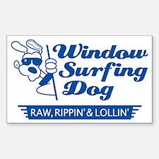 WinSurf_dog_3 Sticker (Rectangle)