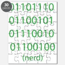 """Binary Code for """"nerd"""" Puzzle"""