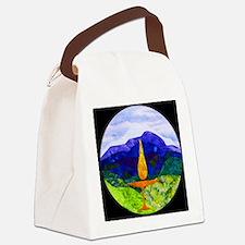 Mountains Chalice Cir Canvas Lunch Bag