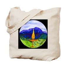 Mountains Chalice Cir Tote Bag