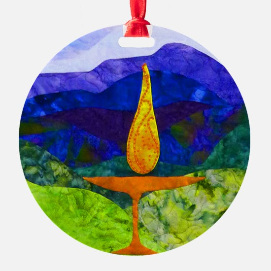 Mountain Chalice Ornament