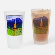 Mountain Chalice Drinking Glass