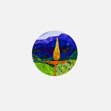 Mountain Chalice Mini Button