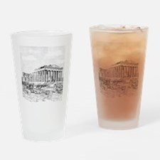 Parthenon Acropolis Athens Drinking Glass