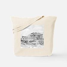 Parthenon Acropolis Athens Tote Bag