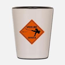 anaheim hockey Shot Glass