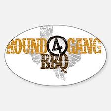 label-r4g-2013-1-orange Sticker (Oval)