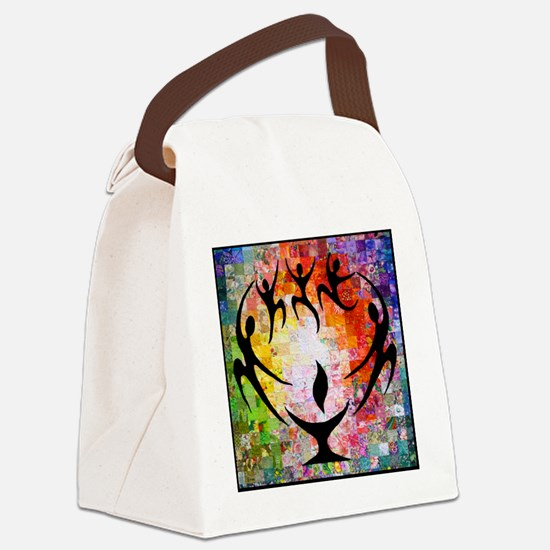 Dancer Chalice Canvas Lunch Bag