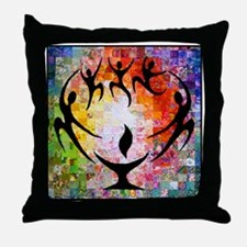 Dancer Chalice Throw Pillow