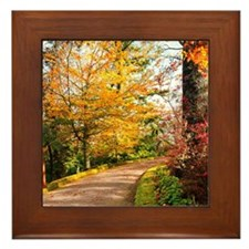 Autumn colors Framed Tile