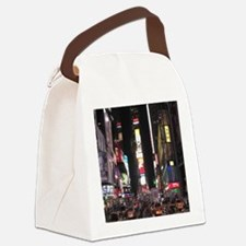 Times Square Canvas Lunch Bag