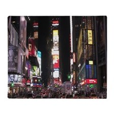 Times Square Throw Blanket