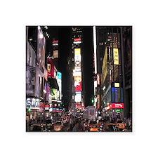 """Times Square Square Sticker 3"""" x 3"""""""