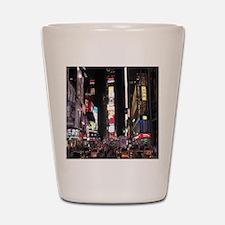 Times Square Shot Glass