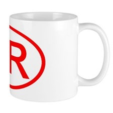 HR Oval (Red) Mug