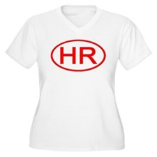 HR Oval (Red) T-Shirt