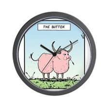 The Buttox Wall Clock