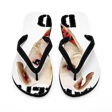 Boxer Dad Dog Flip Flops