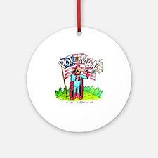 PotMan united T-shirt Round Ornament