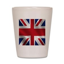 British Flag Shot Glass