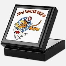 23rd FG insignia Keepsake Box