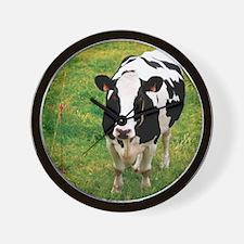 Holstein dairy cattle Wall Clock