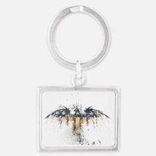 The Freedom Eagle, Full Color Landscape Keychain