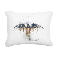 The Freedom Eagle, Full  Rectangular Canvas Pillow