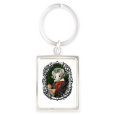 Ludwig Mouse Beethoven Portrait Keychain