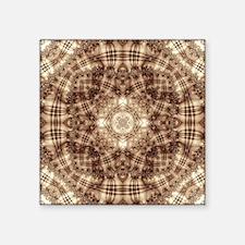 "Mitosis Pattern Square Sticker 3"" x 3"""
