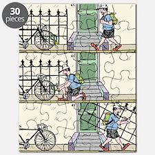 Unlocked fence Puzzle