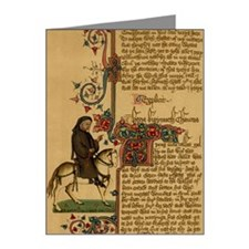 Equestrian portrait of Chauc Note Cards (Pk of 20)