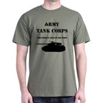 Army Tank Corps Dark T-Shirt