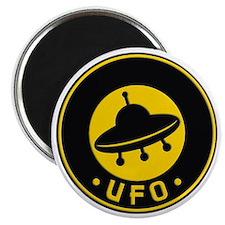 UFO scifi vintage Magnet