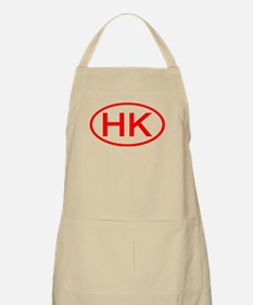 HK Oval (Red) BBQ Apron