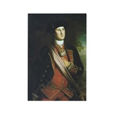 Portrait of George Washington Rectangle Magnet