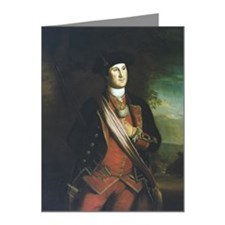 Portrait of George Washingto Note Cards (Pk of 20)