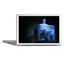 Statue of Abraham Lincoln Laptop Skins
