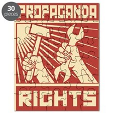 Rights Workers Propaganda Puzzle