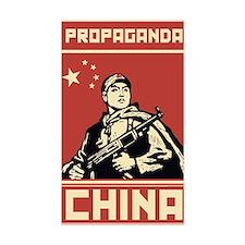 Maoist comunist vintage propag Decal