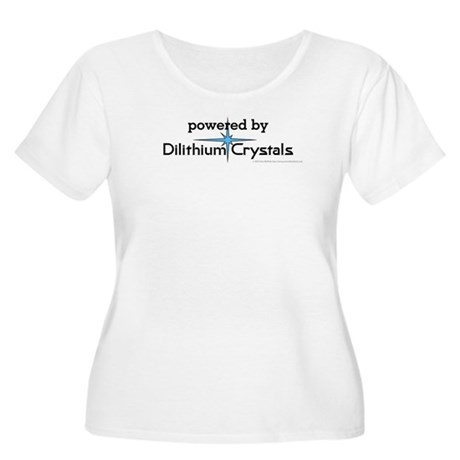 Powered By Dilithium Crystals Women's Plus Size Sc