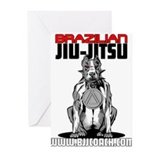 BRAZILIAN JIU JITSU Greeting Cards (Pk of 10)