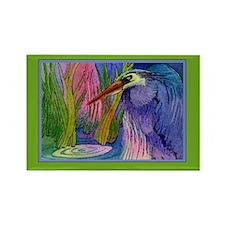Heron Pond Rectangle Magnet
