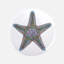 """Bubbly Starfish 3.5"""" Button"""