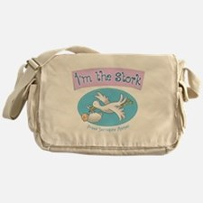 Im the Stork - Surrogate Mother Messenger Bag