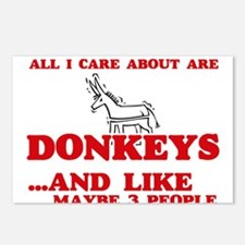 All I care about are Donk Postcards (Package of 8)