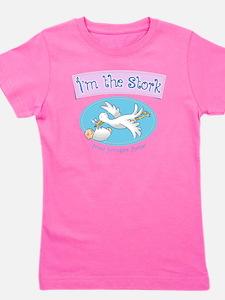 Im the Stork - Surrogate Mother Girl's Tee