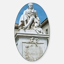 Statue of Alexander von Humboldt in Decal