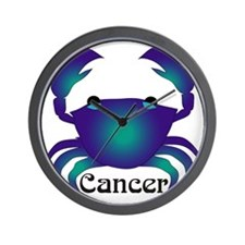Whimsical Cancer Wall Clock