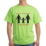 Gay parents Green T-Shirt